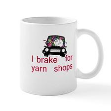 Brake for yarn shops Mug
