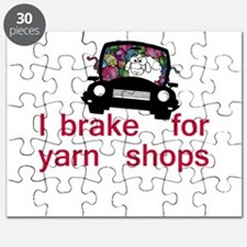 Brake for yarn shops Puzzle