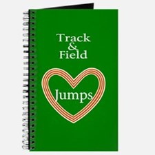 Track and Field Love Jumps Journal