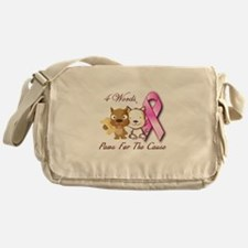 Paws For The Cause Messenger Bag