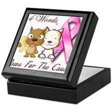 Paws For The Cause Keepsake Box