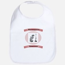 Mammograms Save Lives Bib