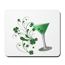 St. Patrick's Day Martini Mousepad