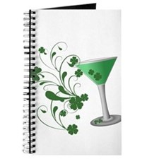 St. Patrick's Day Martini Journal