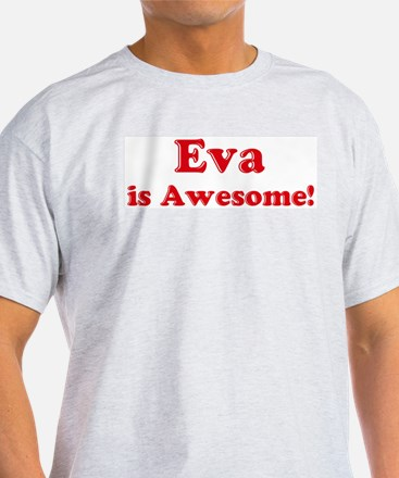 Eva is Awesome Ash Grey T-Shirt