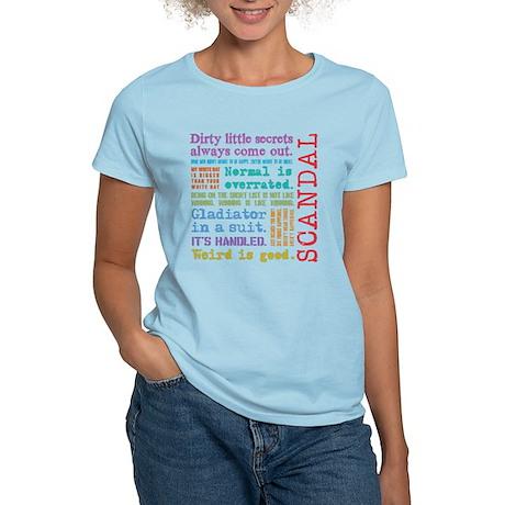 Scandal [multicolor] Women's Light T-Shirt