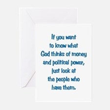 Money & Power Greeting Cards (Pk of 10)