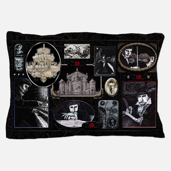 Phantom Phantasia Collage Pillow Case