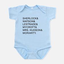 Sherlock Names Body Suit