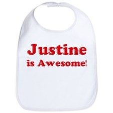 Justine is Awesome Bib