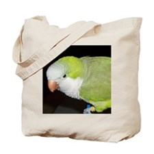 Quaker Parrot Tote Bag