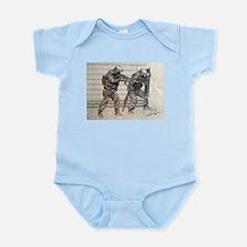 Police Tactics Infant Bodysuit
