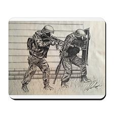 Police Tactics Mousepad