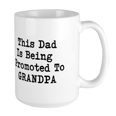 Grandpa Promotion Travel Mug Mugs