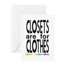 closets Greeting Card