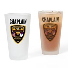 Cute Chaplaincy Drinking Glass