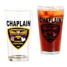Cute Emergency chaplain Drinking Glass