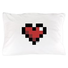 Pixel Heart Pillow Case