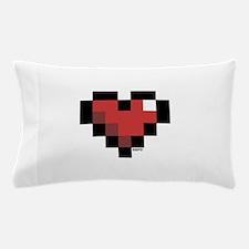 Pixel Heart Pillow Case
