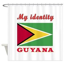 My Identity Guyana Shower Curtain