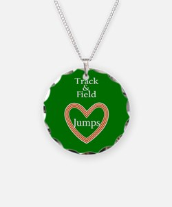 Track and Field Love Jumps Necklace