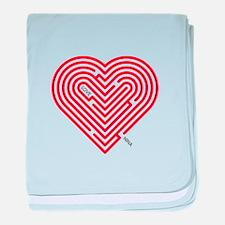 I Love Nina baby blanket
