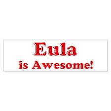 Eula is Awesome Bumper Bumper Sticker