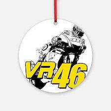 VR46bike4 Ornament (Round)