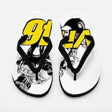 VR46bike4 Flip Flops