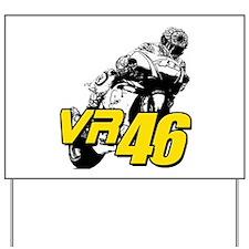 VR46bike4 Yard Sign