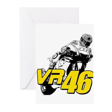 VR46bike4 Greeting Cards (Pk of 20)