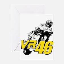 VR46bike4 Greeting Card