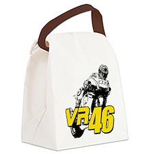 VR46bike4 Canvas Lunch Bag