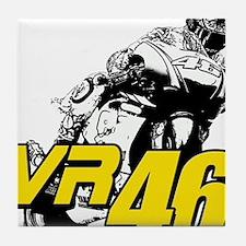 VR46bike4 Tile Coaster