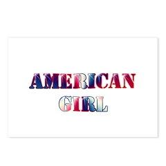 American Girl Postcards (Package of 8)