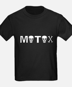 Motox Dirt Bike Motocross Skull Skulls T-Shirt
