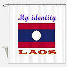 My Identity Laos Shower Curtain