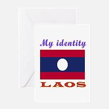 My Identity Laos Greeting Card