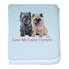Love my Cairn Terriers baby blanket