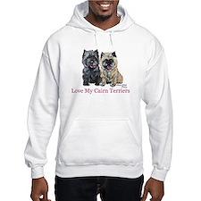 Love my Cairn Terriers Hoodie