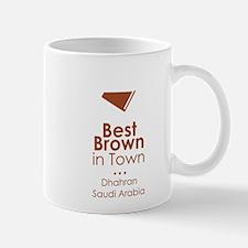 best brown in town Mug
