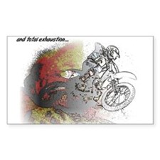 The Real Fun Begins Dirt Bike Motocross Decal