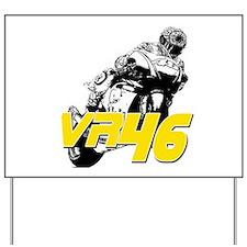 VR46bike3 Yard Sign