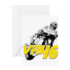 VR46bike3 Greeting Card