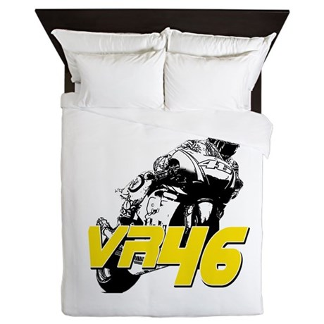 VR46bike3 Queen Duvet