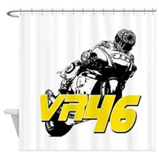 VR46bike3 Shower Curtain