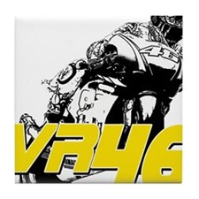 VR46bike3 Tile Coaster