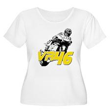VR46bike3 Plus Size T-Shirt