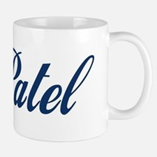 Patel name (blue) Small Mug