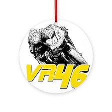 VR46bike2 Ornament (Round)